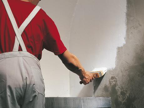 Farba do malowania wilgotnych ścian Durbocem piwnic na wilgotne ściany