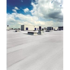 Powłoka odbijająca promienie słoneczne na dachach