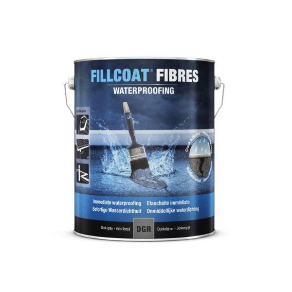 Fillcoat fibres masa uszczelniająca dach taras balkon komin papę w zime lub podczas deszczu