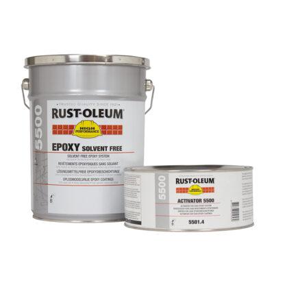 Posadzka chemoodporna Rust Oleum 5500 Żywica epoksydowa farba na beton malowanie