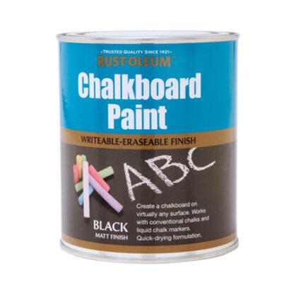 Farba do tablicy czarna kredowa Rust Oleum Chalboard Paint czarne kredowe farby tablicowa tablic pisania kredą kredami