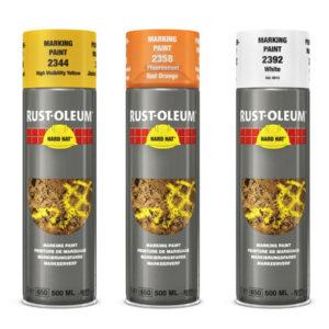 Farby do znakowania Hard Hat Rust Oleum 2350 Spraye