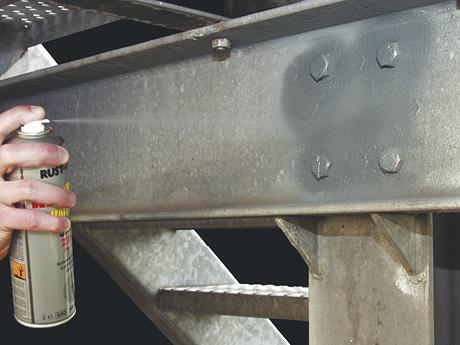 Powłoki cynkowe Rust Oleum 1017 1085 Glava Zinc malowanie ocynk w sprayu