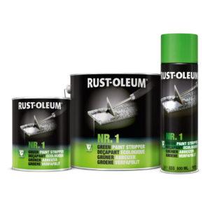 Preparat do usuwania farb Rust Oleum Nr 1 Zielony środek do usuwania olejnej farby starych