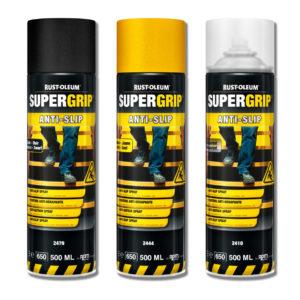 Spray antypoślizgowy Rust Oleum 2400 SuperGrip Hard Hat farba na schody