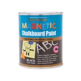 Farba magnetyczna do tablicy czarna Rust Oleum Chalkboard Magnetic tablicowa pisania kredą rysowania
