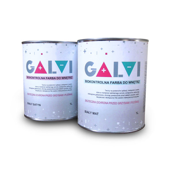 Farba przeciwgrzybicza Galvi Farba pleśniobójcza i grzybobójcza na pleśń grzyba przeciwko pleśni grzybom farby