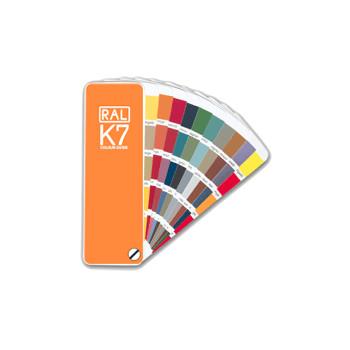 Wzornik kolorów RAL K7 paleta barw