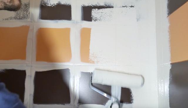 Farba do malowania płytek, glazury, terakoty