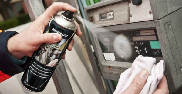Pianka do czyszczenia plastiku, tapicerki, szkła, itd. – X1 1630 preparat środek rust oleum płyn