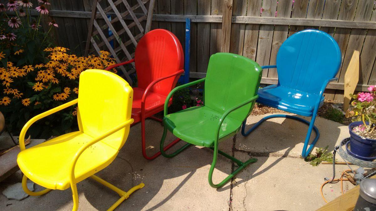 jak pomalować krzesło odnowić farby