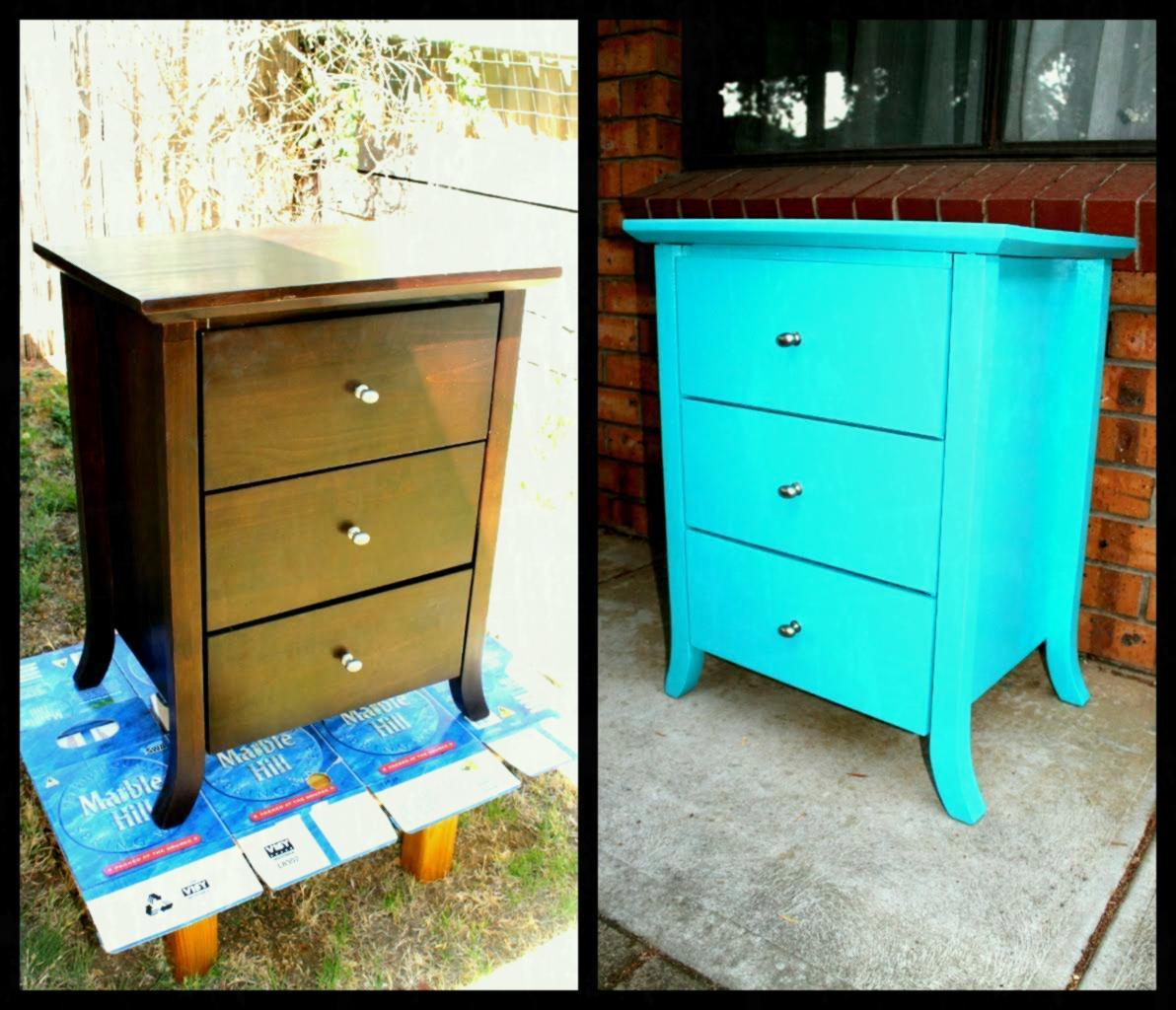 jak pomalować stare meble odrestaurować odnowic