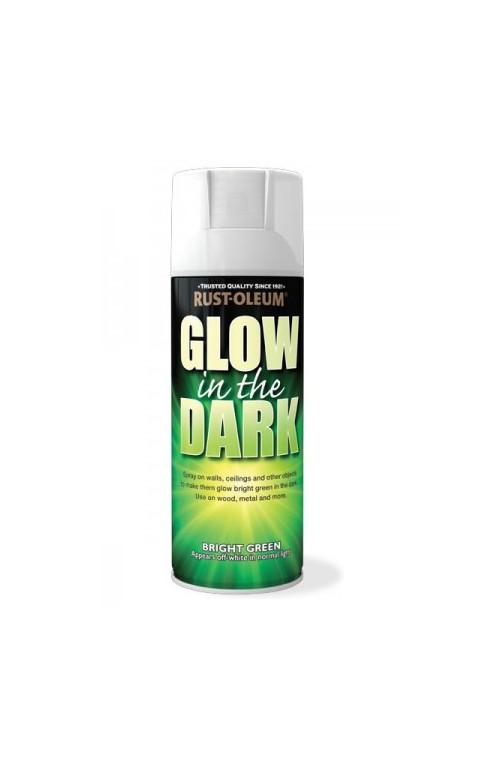 Spray luminescencyjny świecący w ciemności Rust Oleum, farba fosforyzująca